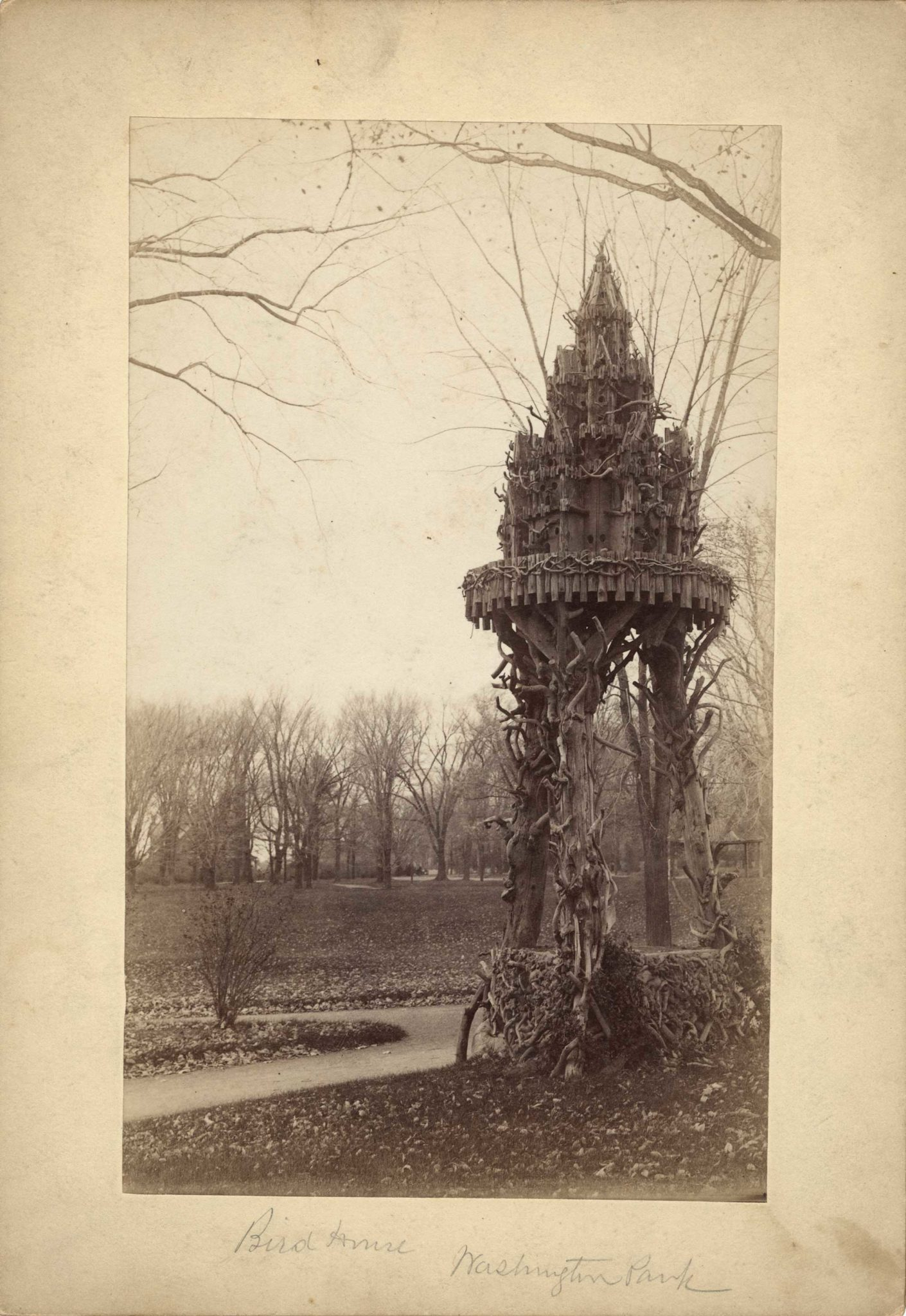 19th Century Rustic Birdhouse
