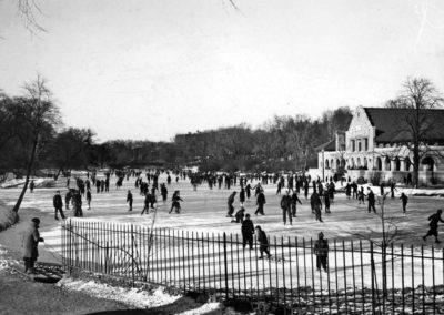 Ice Skating 1936 TU Archive
