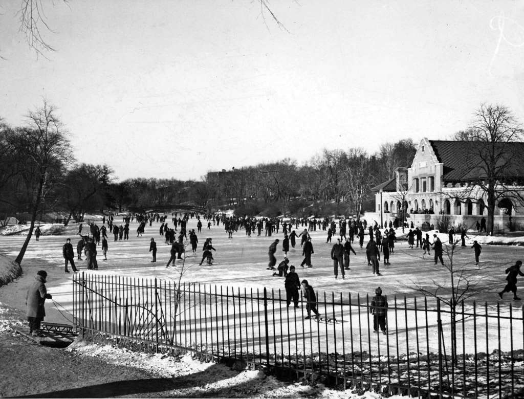 Ice Skating 1936 TU Archive