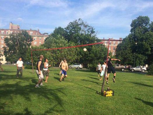 Volleyball in Washington Park