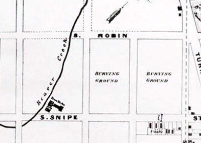 1857 Cropped Map - Washington Park