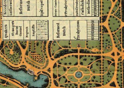 1891 Map - Washington Park - Showing Cemetery
