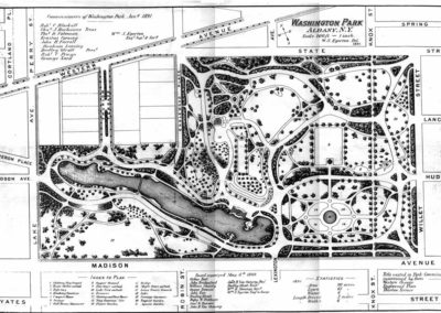 1891 Map - Washington Park